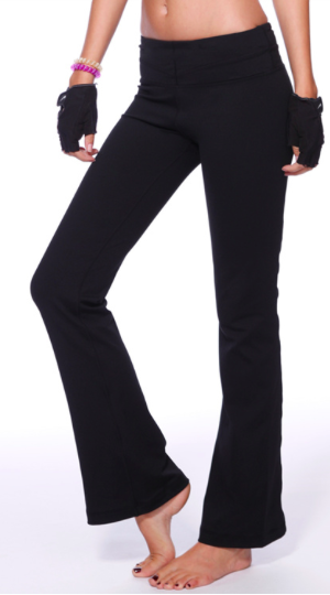 Slim Fit Flare Yoga Pants