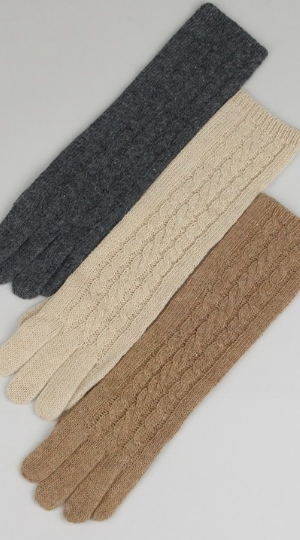 Classic Cable Knit Gloves