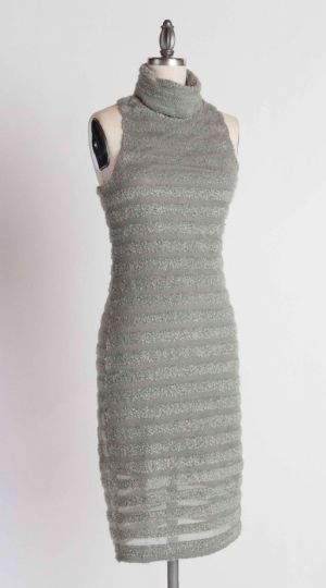 Top Notch Turtleneck Sweater Dress