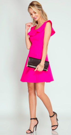 Such A Sweetheart Hot Pink Dress