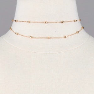 Elegant Layered Choker Necklace (more colors)