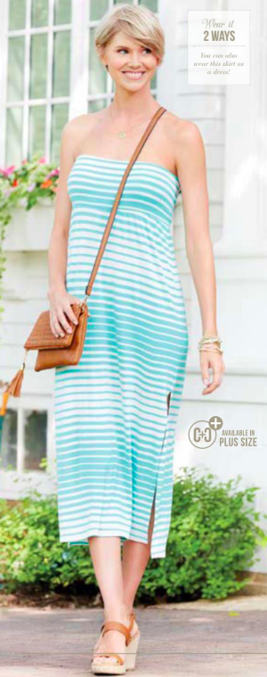 Vitality Maxi Skirt/Tube Dress
