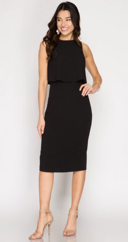 Slay All Day Midi Bodycon Dress (more colors)