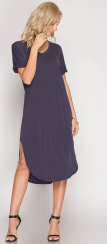 Casual Chic T-shirt Dress (more colors)