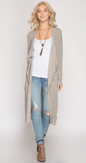 Light As A Feather Duster Cardigan (more colors)