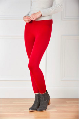 Wide Waistband Solid O/S Leggings (more colors)