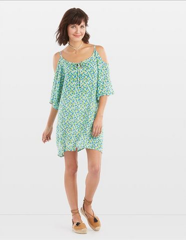 C+C Del Sol Printed Tunic/Dress