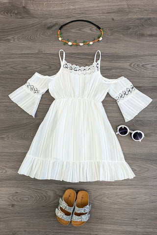 Boho White Dress KIDS