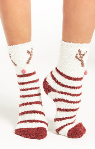 Deer Plush Socks by Z SUPPLY