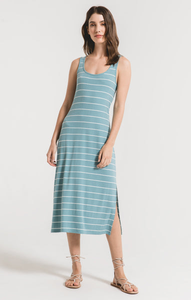 Seri Stripe Rib Tank Dress by Z SUPPLY (more colors)
