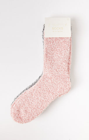 Rose Blossom Plush Socks (2-pack) by Z SUPPLY