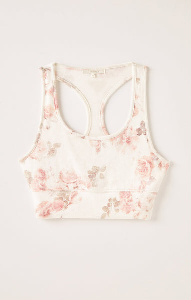 Sia Floral Tank Bra by Z SUPPLY