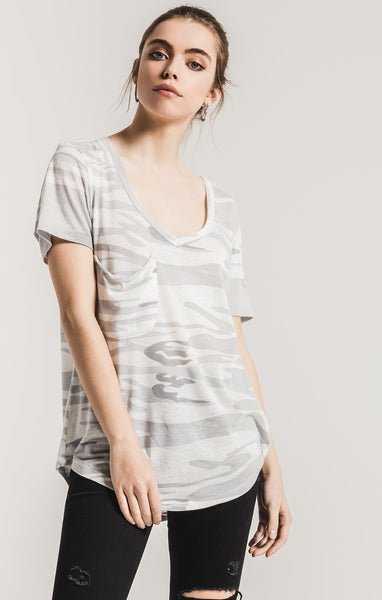 The Cute Camo Pocket Tee by Z Supply (more colors)