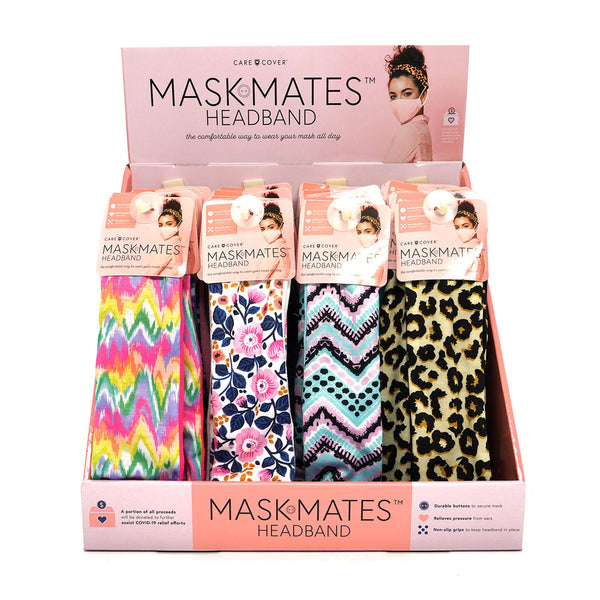 Mask Mates Headband (multiple colors and prints)