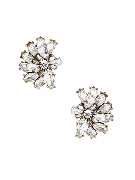 Luxe Cluster Statement Studs