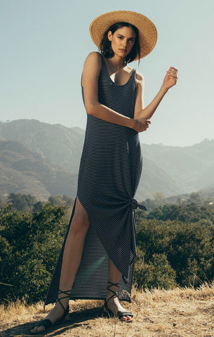The Micro Stripe Maxi Dress by Z SUPPLY