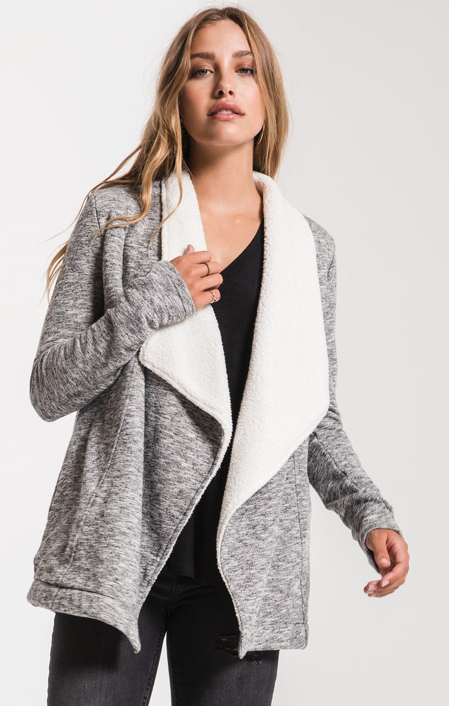 The Sherpa Sweater Cardigan by Z SUPPLY