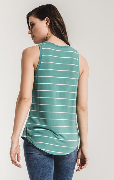 The Pencil Striped Jersey Tank by Z SUPPLY (more colors)