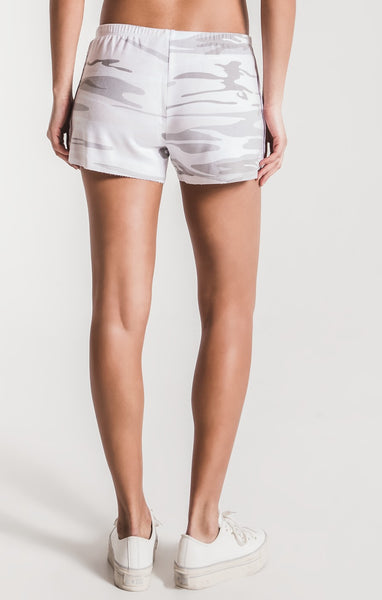 The Drift White Camo Shorts by Z SUPPLY