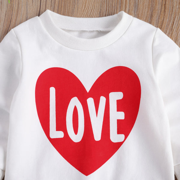 Big Heart Love Toddler Sweatshirt