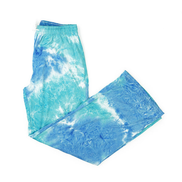 Dyes the Limit Lounge Pants by Hello Mello - AQUA