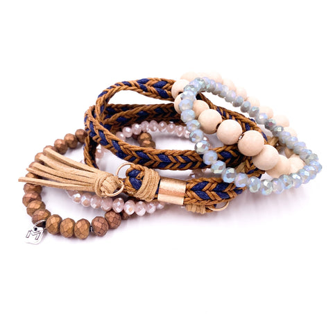 Clark Bracelet Set by Mix Mercantile