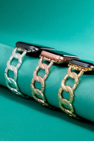 Curb Chain Apple Watch Bracelet
