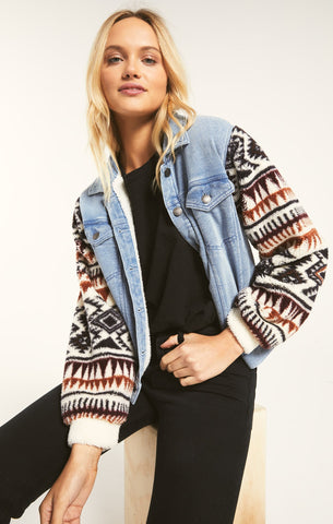 Gia Knit Denim Jacket by Z SUPPLY