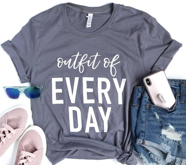 "Banky Girl Creations - ""Outfit of Every Day"" Tee"