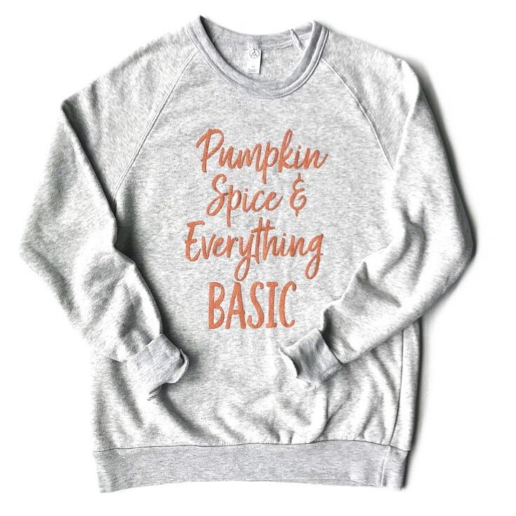 "Banky Girl Creations - ""Pumpkin Spice & Everything Basic"" Pullover"