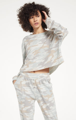 Celine Camo Long Sleeve by Z SUPPLY