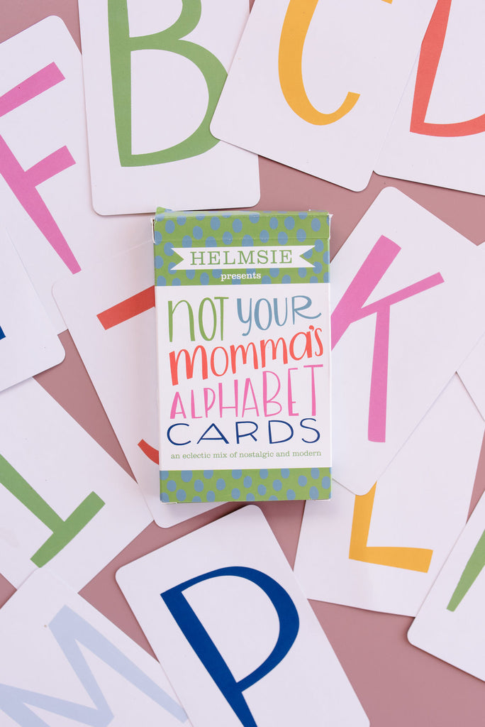 Helmsie - Not Your Momma's Alphabet Cards