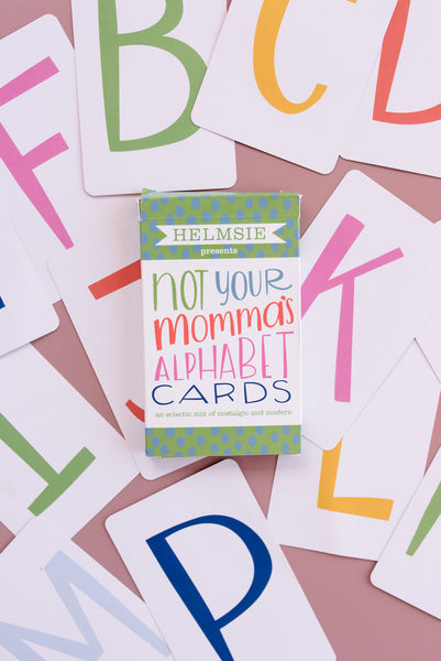 Not Your Momma's Alphabet Cards