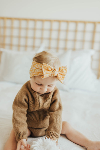 Baby Bling - Printed Knot Headbands