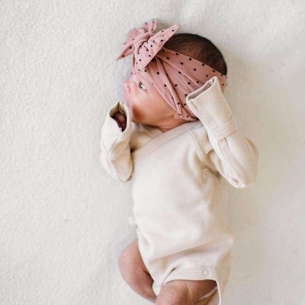 Baby Bling - Patterned Shabby Knot Headbands