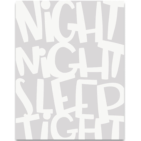 Helmsie - Fine Art Print - Night Night Sleep Tight