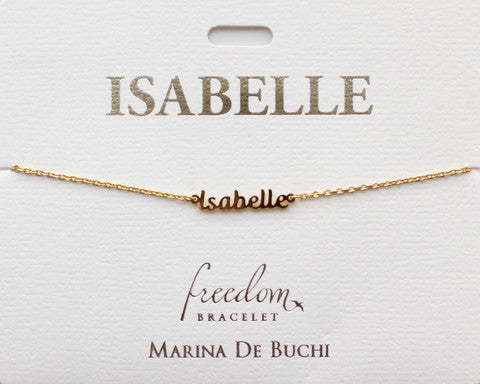 Bracelet Name by Freedom