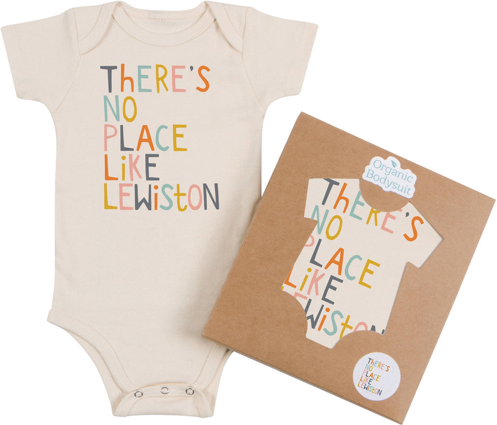 "Morado - ""There's No Place Like Lewiston"" Onesie"