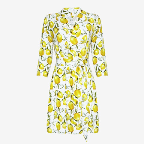 Posh Peanut - LEMON Robe