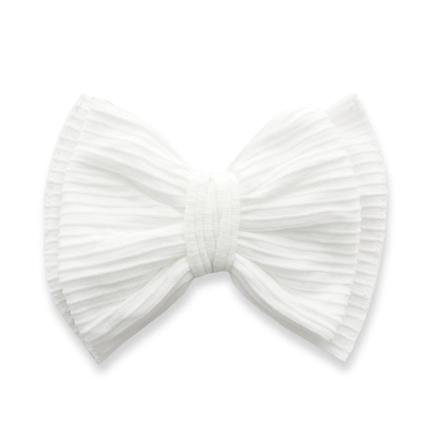 Baby Bling - Ribbed Bow Clips