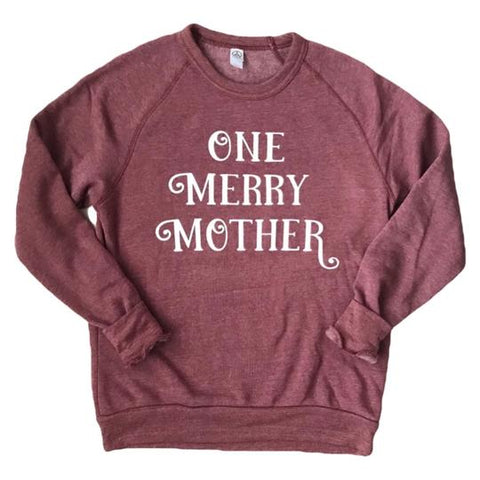 "Banky Girl Creations - ""One Merry Mother"" Pullover"