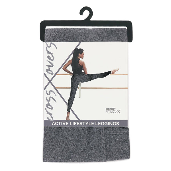 Crossover Athletic Leggings by FITKICKS