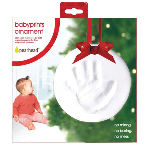 Babyprints Christmas Holiday Ornament
