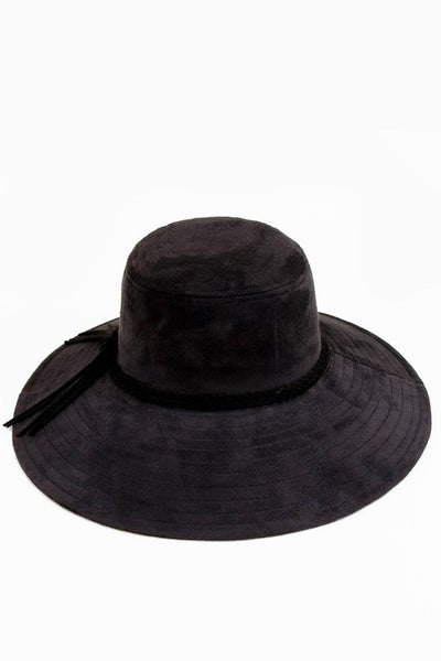 Straight Wide Brim Hat