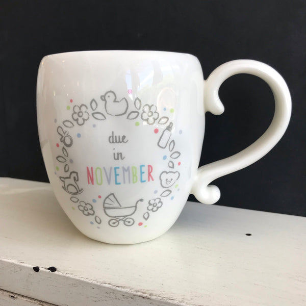 Due In Month Mug