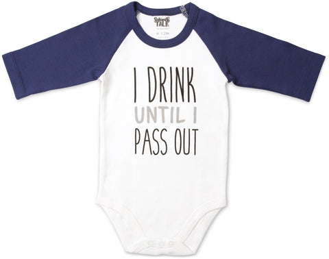 Pass Out Onesie