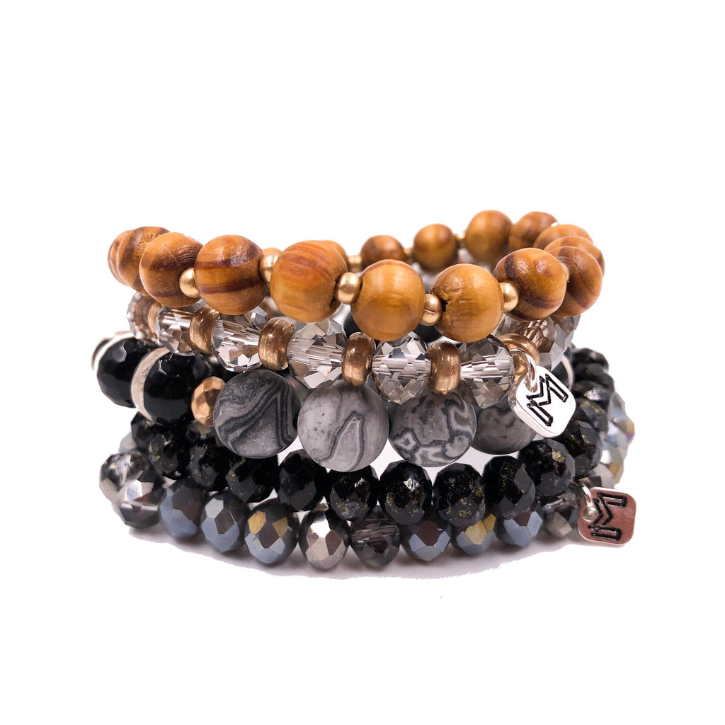 Mix Mercantile Bracelets - Bamboo Set