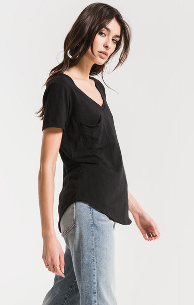 The Airy Slub Pocket Tee by Z SUPPLY