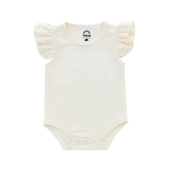 Flutter Sleeve Onesies (more colors)