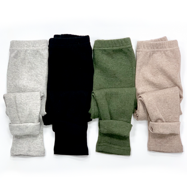 Little Bipsy - Ribbed Leggings (more colors)